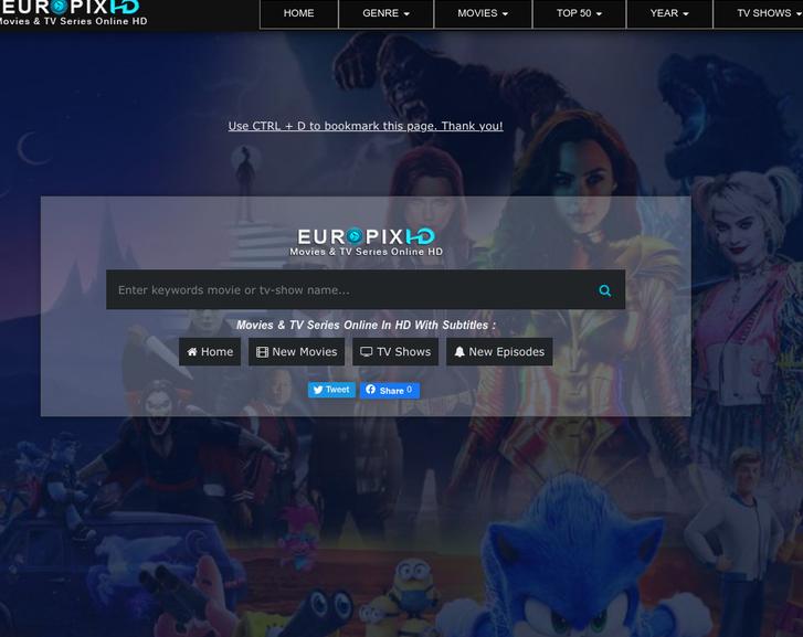 Free Tv Shows Streaming Sites: EuroPixHD