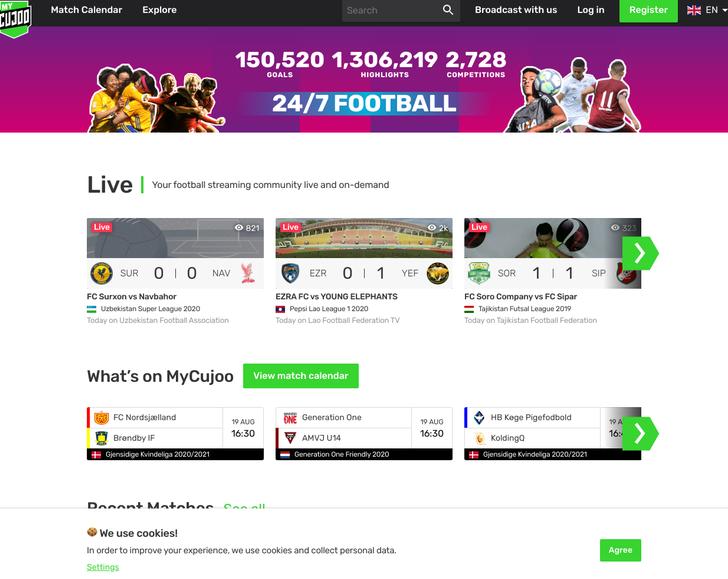 mycujoo.tv free sports streaming sites
